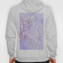 Vincent Van Gogh Almond Blossoms  Lavender Hoody