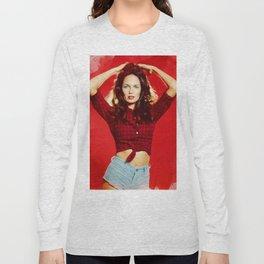 Catharine Bach, Daisy Duke Long Sleeve T-shirt