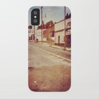 memphis iPhone & iPod Cases featuring Memphis Street by wendygray