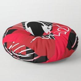 Red Love Gamer Headset Floor Pillow