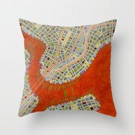 cypher number 13 (ORIGINAL SOLD). Throw Pillow