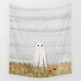 Walter in the Poppy Field Wall Tapestry