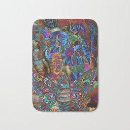 Psychedelic Buddha Bath Mat
