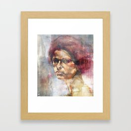 Tether Framed Art Print