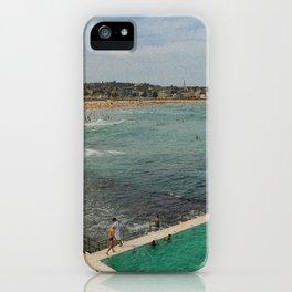 Bondi Beach Icebergs Old iPhone Case