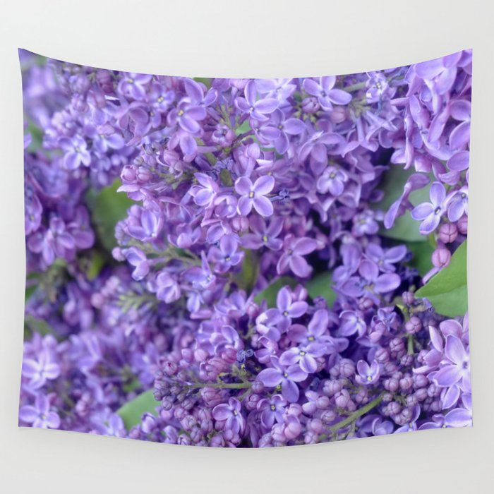 Lilacs Wall Tapestry
