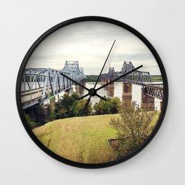 Vicksburg Mississippi Wall Clock