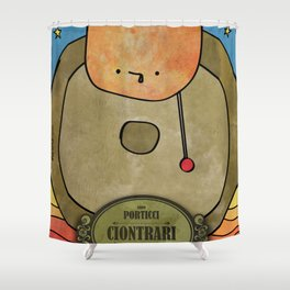Ciotrari from Porticci (Gong) Shower Curtain
