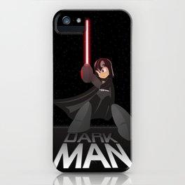 Dark Man iPhone Case