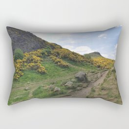 Holyrood park Rectangular Pillow