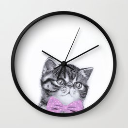 Smushie Wall Clock