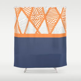 The Zone Shower Curtain