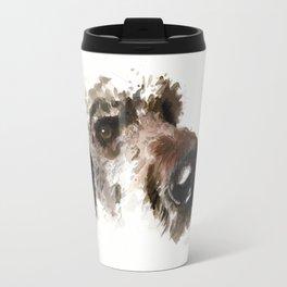 Dogface Golden Doodle Travel Mug
