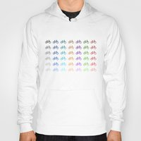 bicycles Hoodies featuring Bicycles by George Hatzis