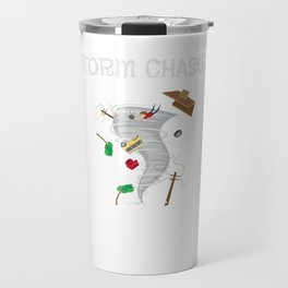 Cute Storm Chaser for Tornado Fans Travel Mug