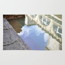 Roman Baths Reflection Rug