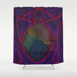 Sheela Araneae Shower Curtain