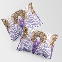 Dark Crystal Art Nouveau Pillow Sham