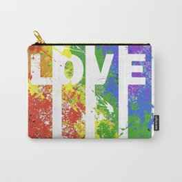 LOVE/COLOR Carry-All Pouch
