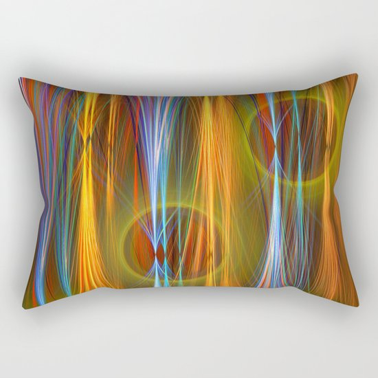 Mirthful, colourful abstract Rectangular Pillow