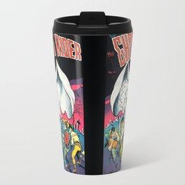 The Ghost Rider Vintage Golden Age Comic Art Travel Mug