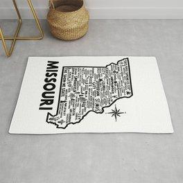 Missouri Map Rug