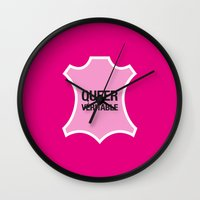 queer Wall Clocks featuring Queer Véritable by justasign