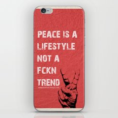 Peace Out!  iPhone & iPod Skin