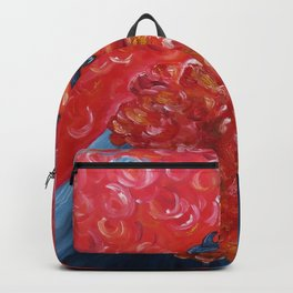 Dolphins in a vulcano Backpack