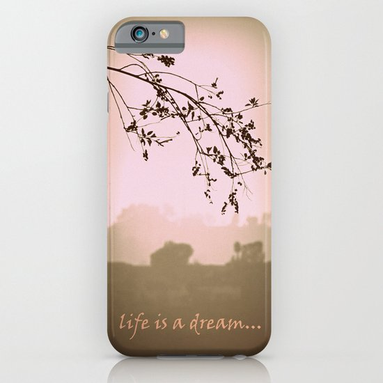 life is a dream iPhone & iPod Case