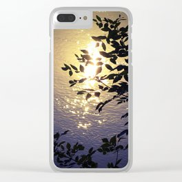 Holding the Sunshine Clear iPhone Case