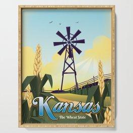 Kansas Serving Tray