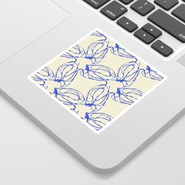 Seaweed Abstract Sticker
