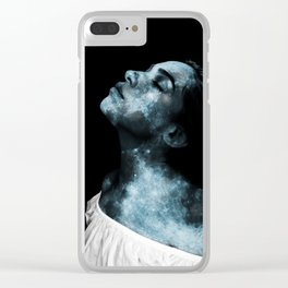 Σελήνη (Selene) Goddess of the Moon Clear iPhone Case