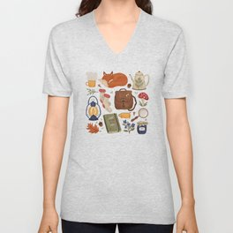 Woodland Wanderings Unisex V-Neck