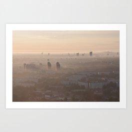 metropolis awakes Art Print