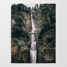 Multnomah Falls III / Oregon Poster
