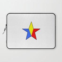 Flag of romania 6 -romania,romanian,balkan,bucharest,danube,romani,romana,bucuresti Laptop Sleeve