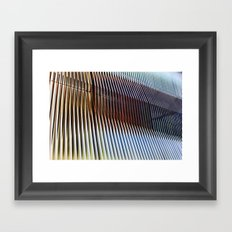 Structure of Ephemera Framed Art Print