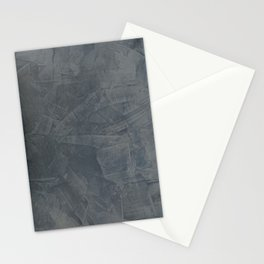 Slate Gray Stucco - Faux Finishes - Rustic Glam - Venetian Plaster Stationery Cards