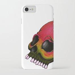 Rasta Skull iPhone Case