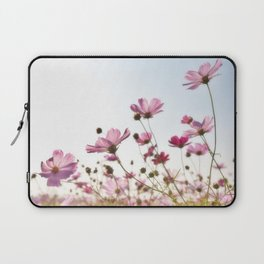 Pink Cosmos Laptop Sleeve