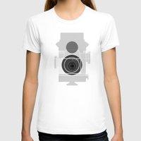 history T-shirts featuring Camera History by BlancaJP