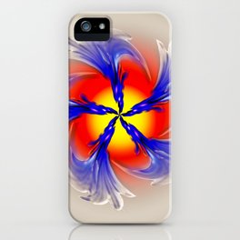 Abstract - Perfection 49 iPhone Case