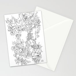 Pasolini`s Garden Stationery Cards