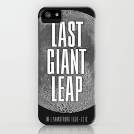 Last Giant Leap iPhone Case