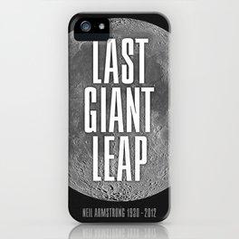 Last Giant Leap iPhone Case