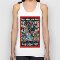 fault Tank Tops featuring FAULT WITH REALITY by LIGGYZIGHAT