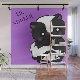 Lil Stinker Skunk Wall Mural