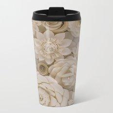 Paper Bouquet Metal Travel Mug